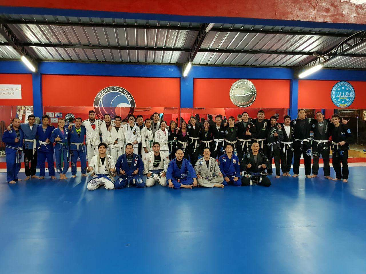 Pacific Top Team brazilian jiu jitsu Ecuador