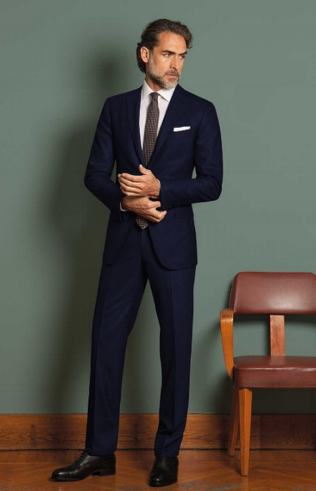 1. The Navy Suit