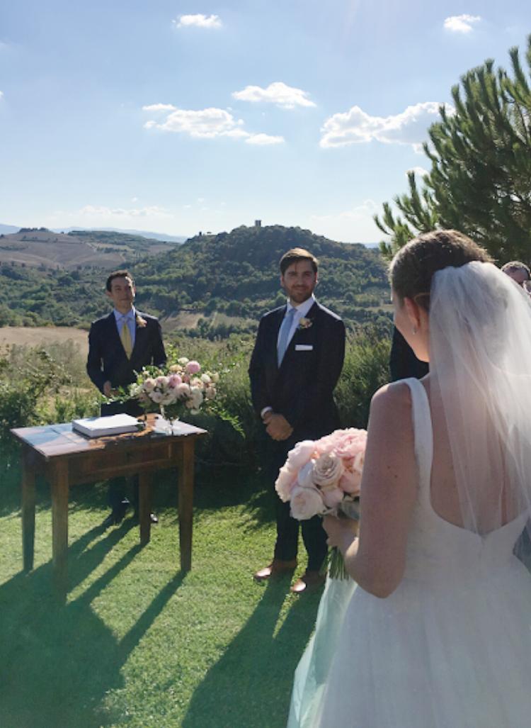 Wedding in Montepulciano