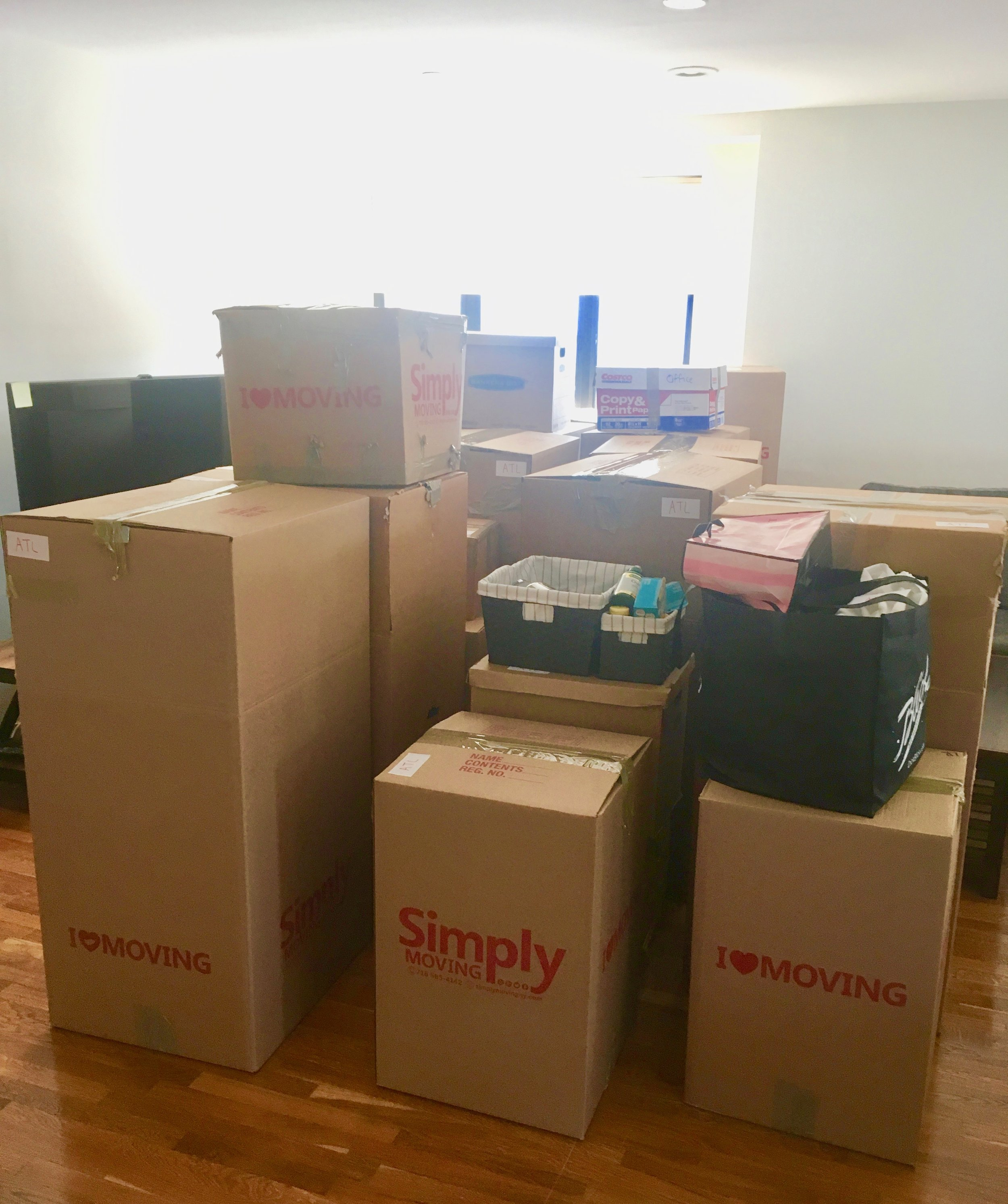 Here come the boxes!