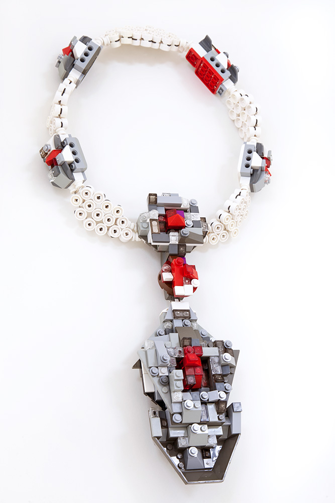 La Reine de Pèlerin necklace