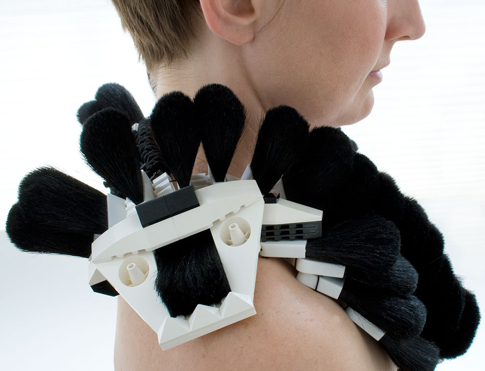 Winter's Brush neckpiece