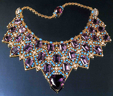 Bib necklace, Cartier, Paris, 1947