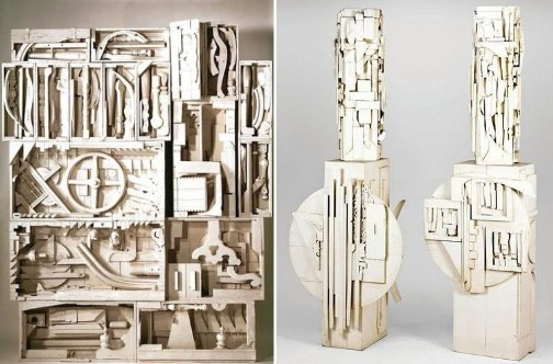 from  Dawn's Wedding Feast , Louise Nevelson, 1959