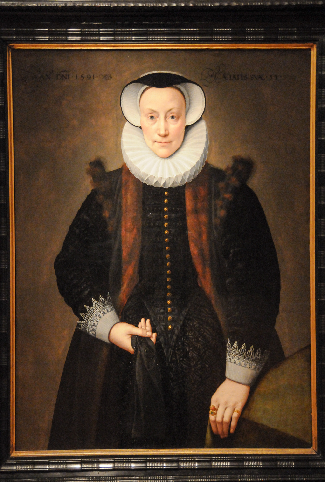 Portrait of a Lady , Frans Pourbus the Younger, 1591