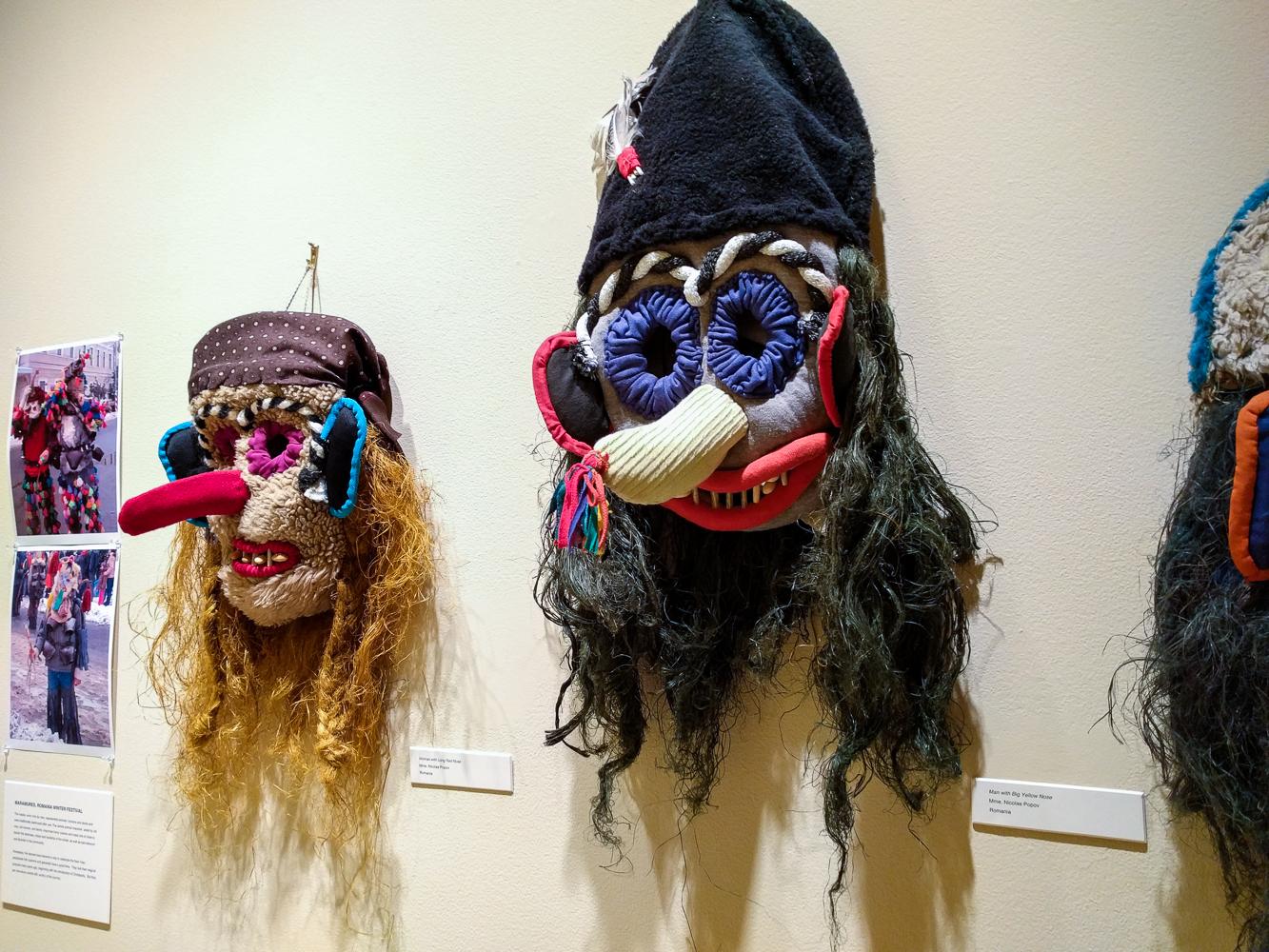 Maramure Winter Festival masks, Romania