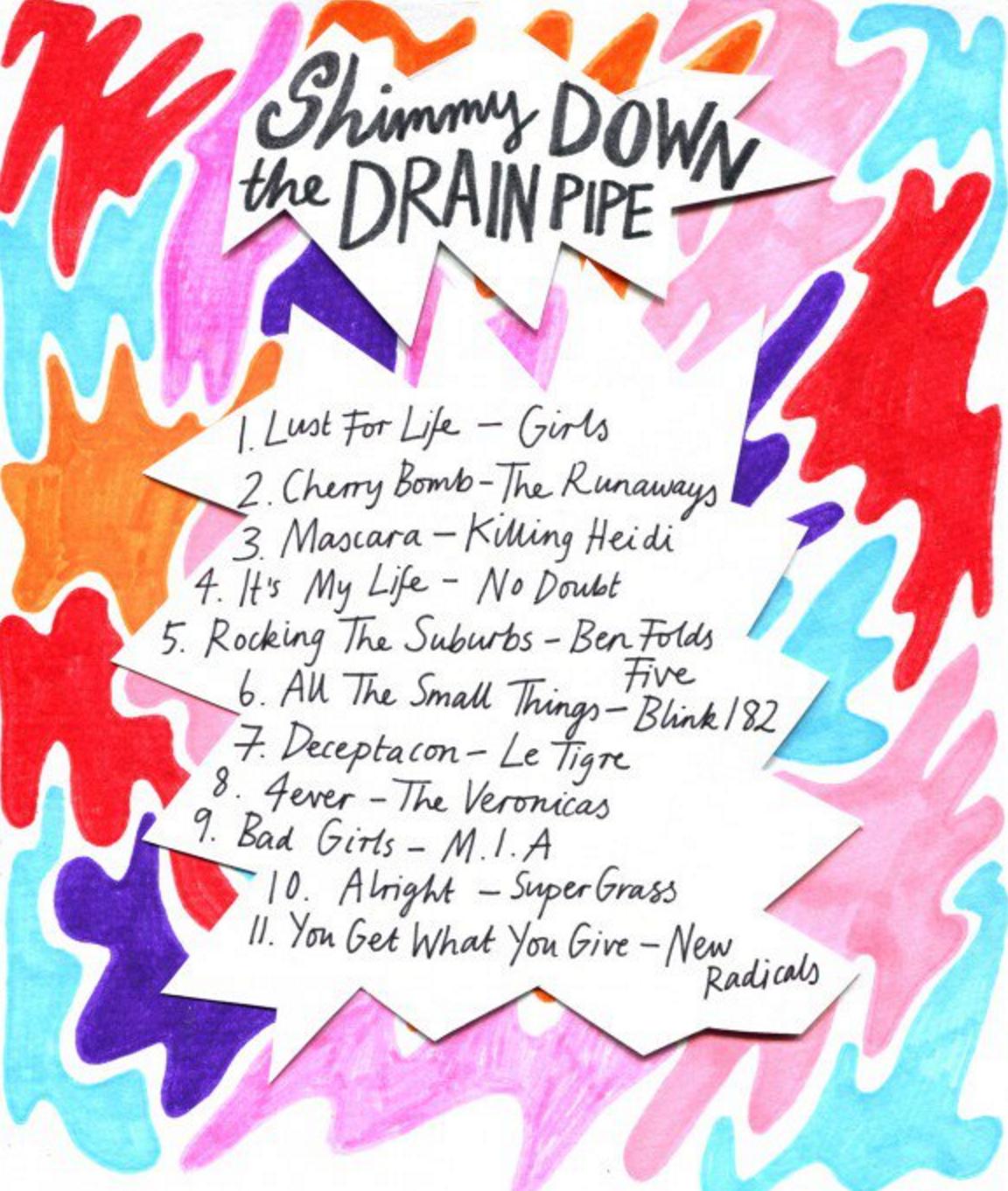 Friday Playlist 08/30/2013 Minna Gillgan,rookiemag