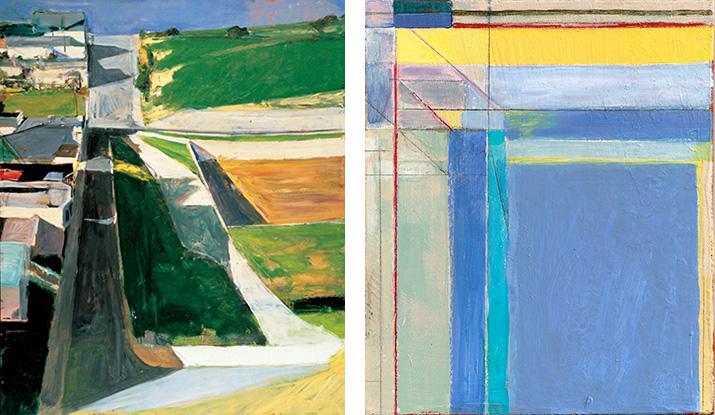 Richard Diebenkorn: Cityscape 1, 1963 and Ocean Park Series #79