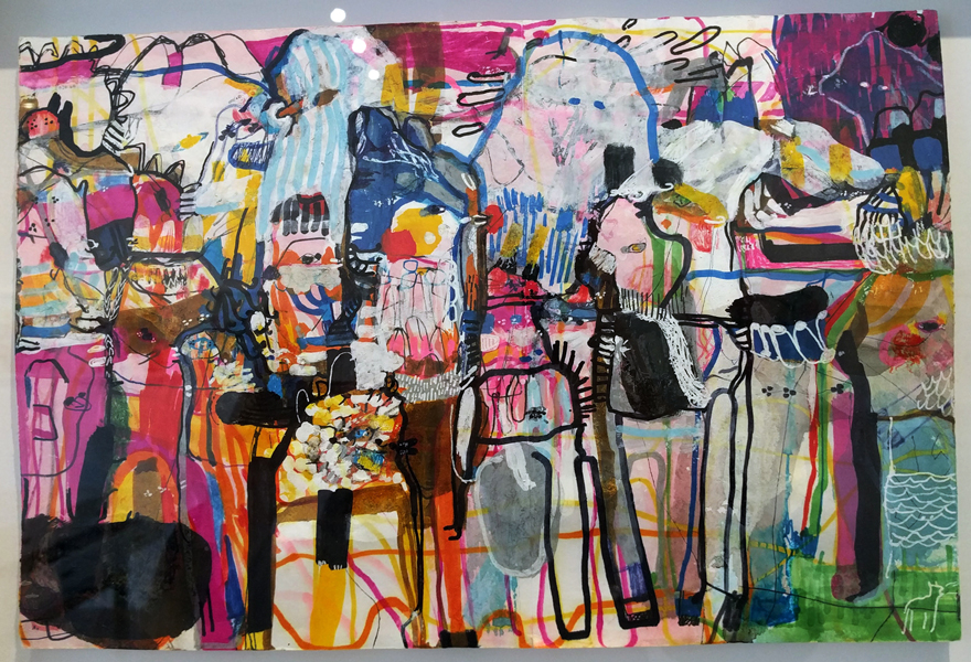 Laine Justice painting, Gallery Lulo