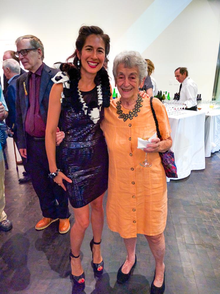 me & the fabulous Lois Boardman