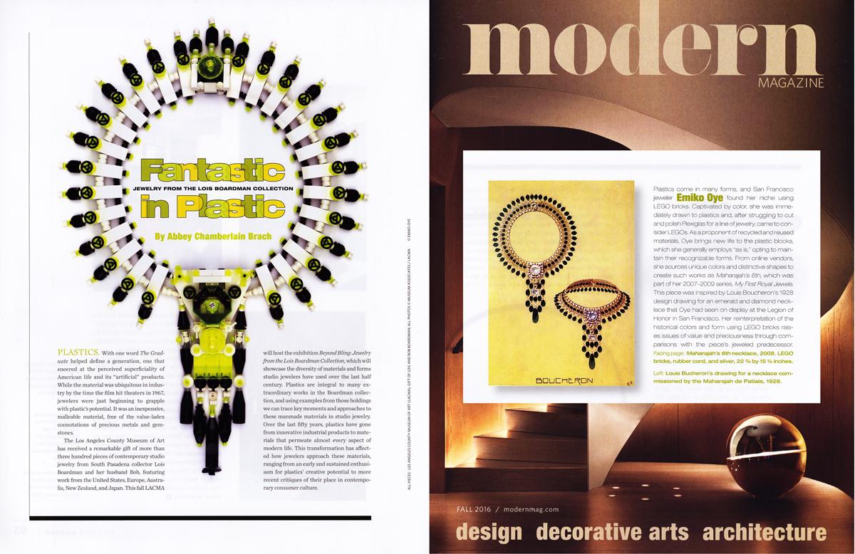 Modern Magazine, Fall 2016