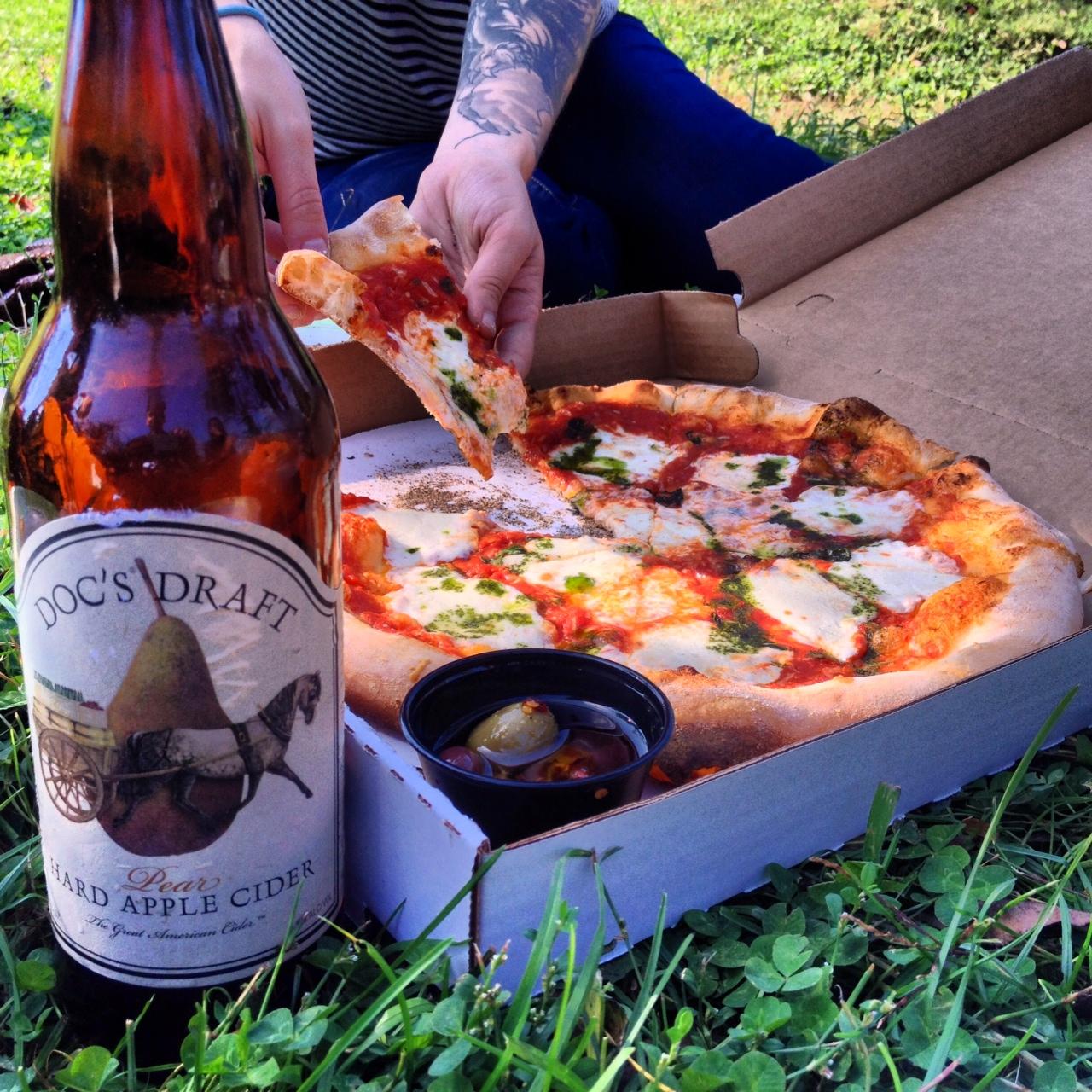 Warwick Winery Pizza