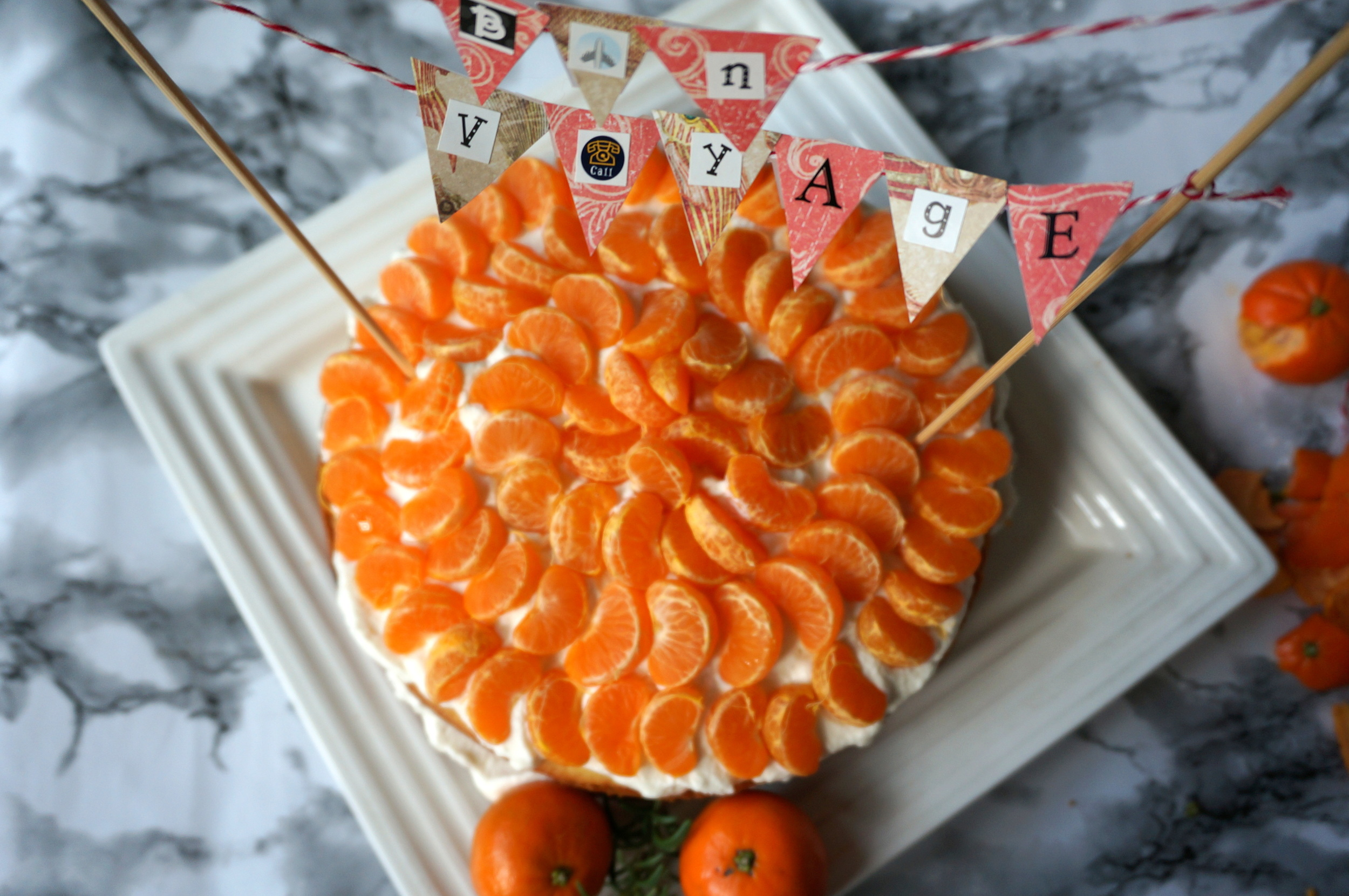 Clementine Cream Cake