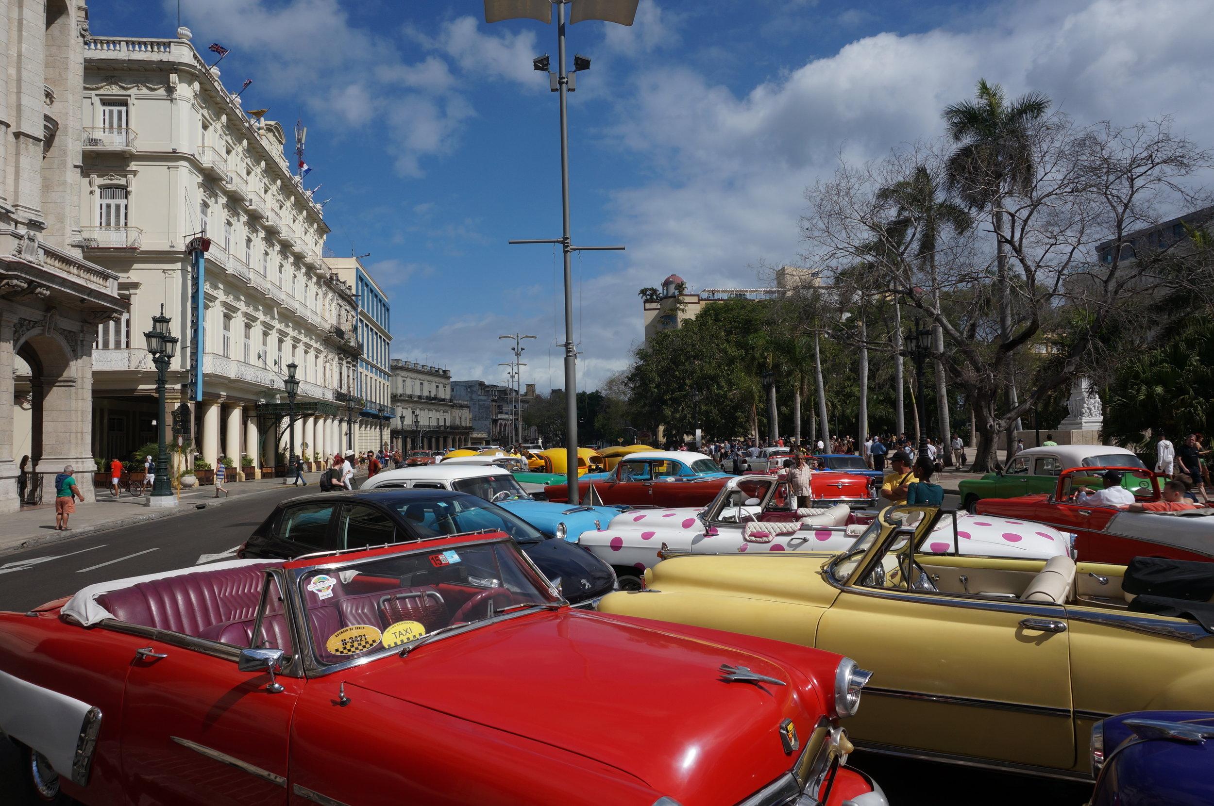 Vintage Cars in Cuba