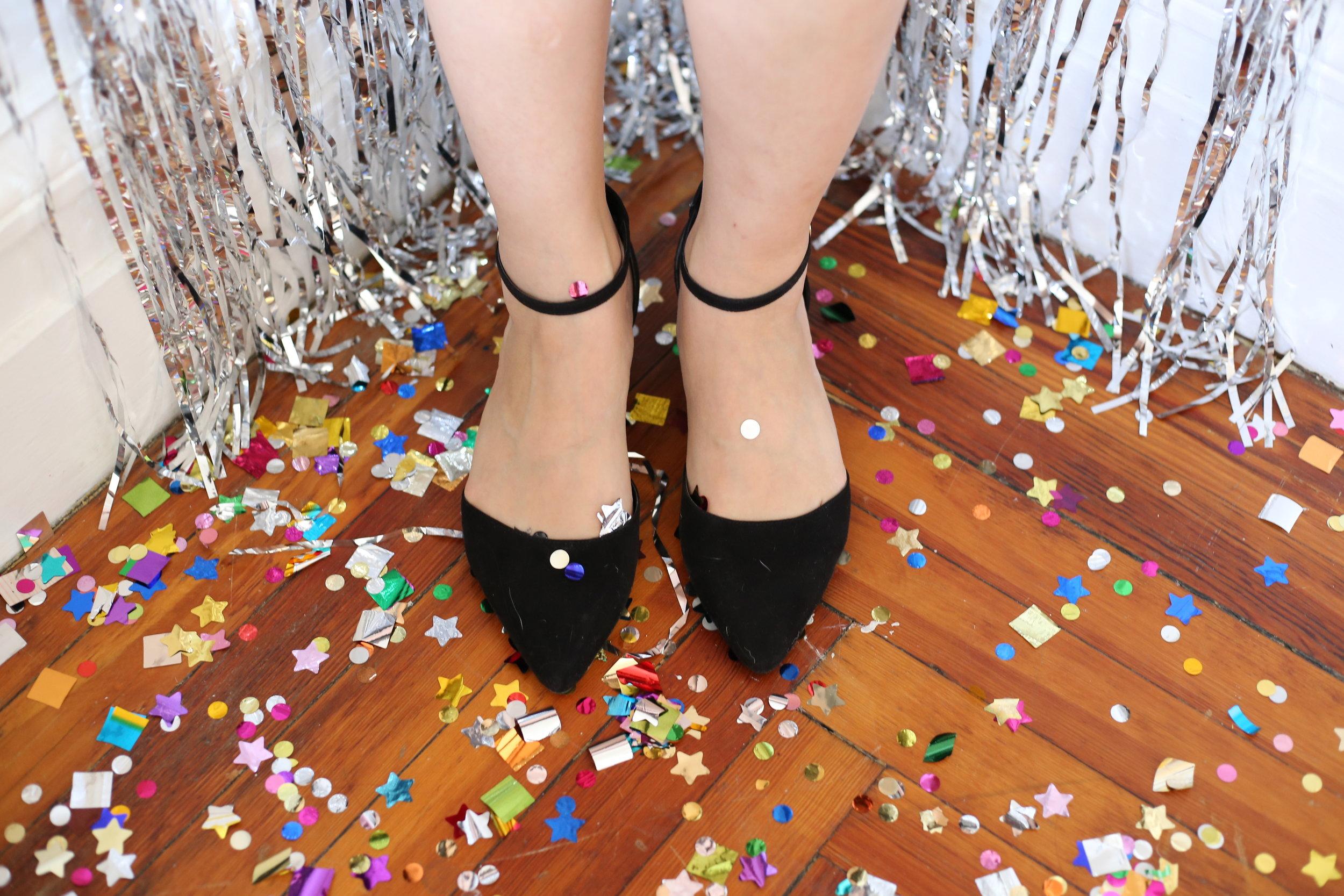 low block heel pump