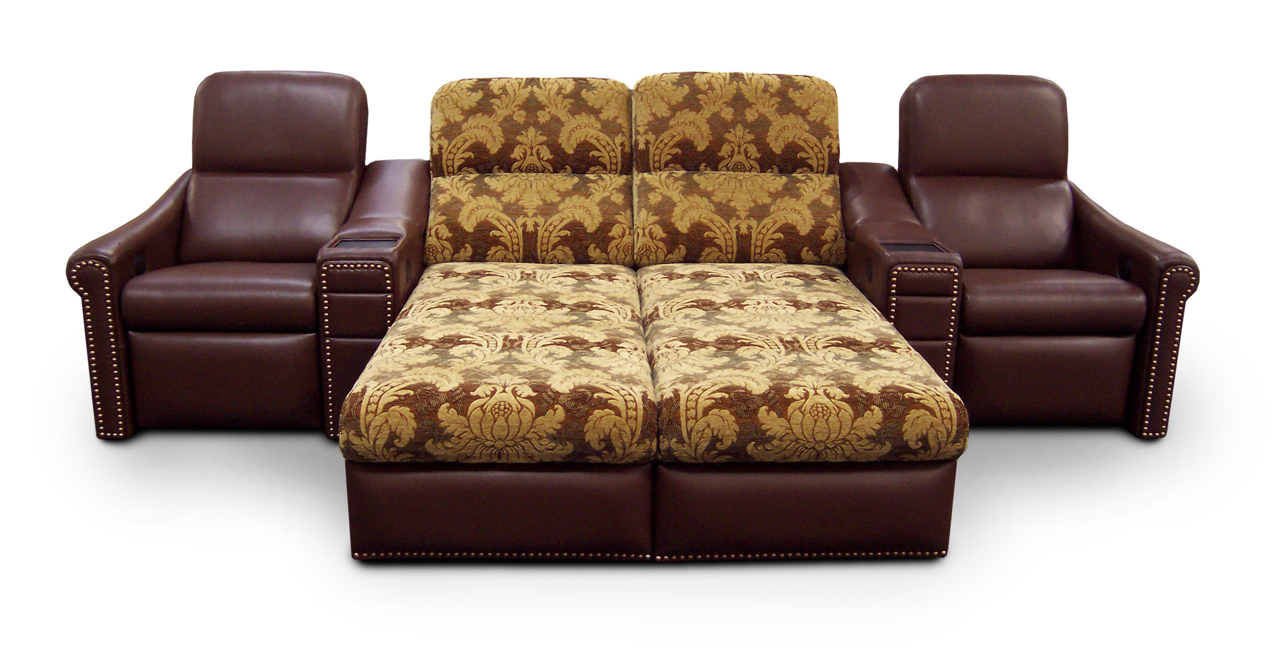 El Dorado Arms; Bijou Back; Single-Dual Chaise Lounger-Single; Front Access Cup Holders; Laminate Tray Tables