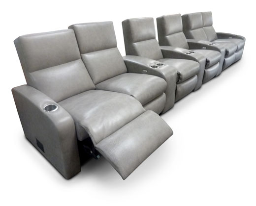 Chaise Footrest; Aisle Lights; Dual Cup Holders in common arms