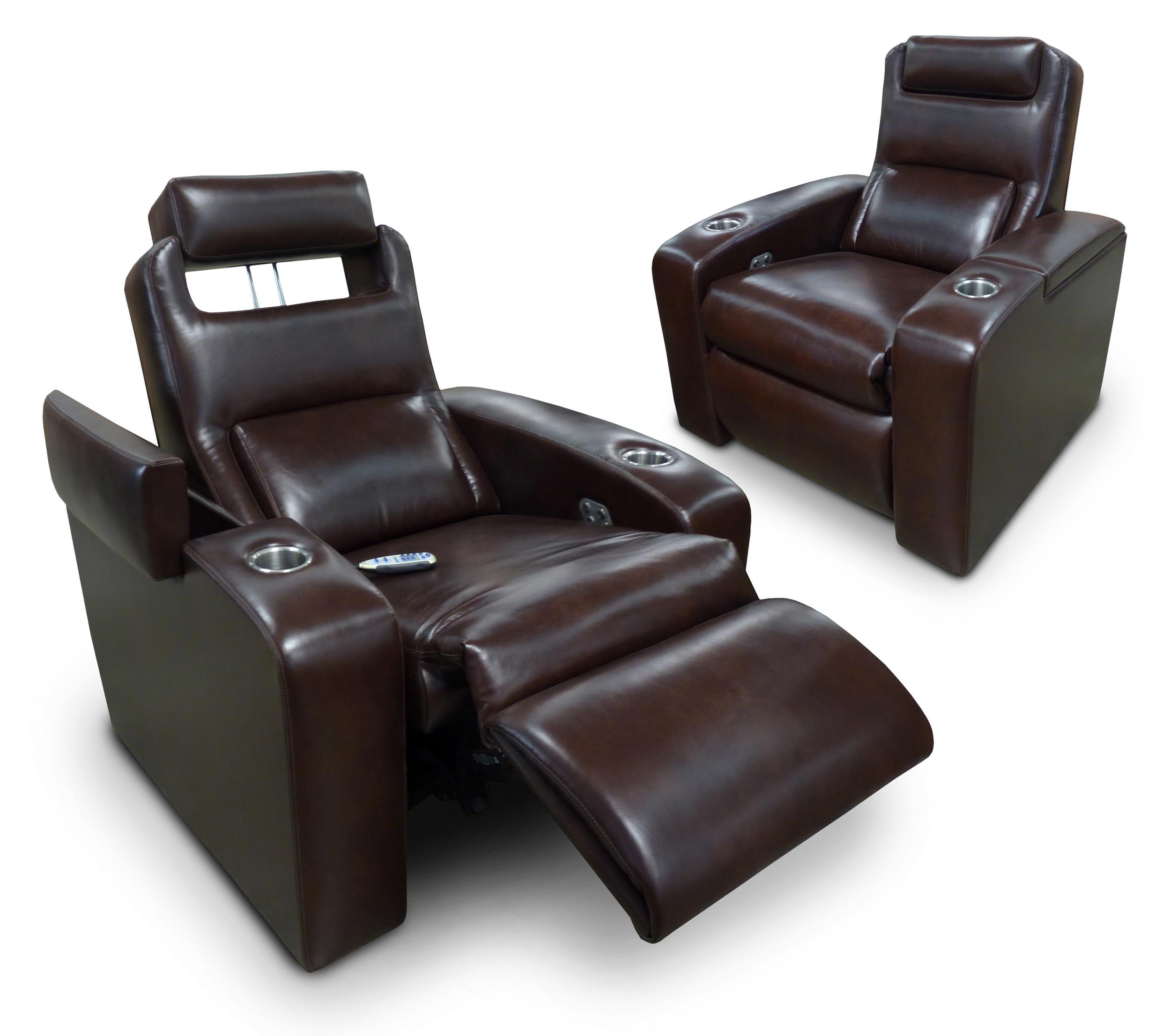 Motorized Adjustable Head Rest, Arm Storage, Chaise Footrest; Model: Madison