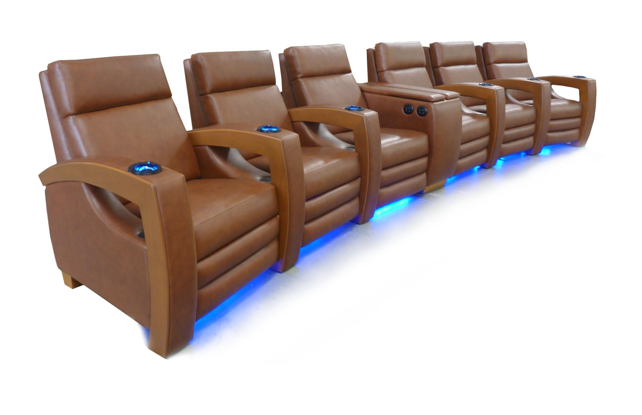 LED Floor Lighting; LED Cup Holders; Model: Uptown