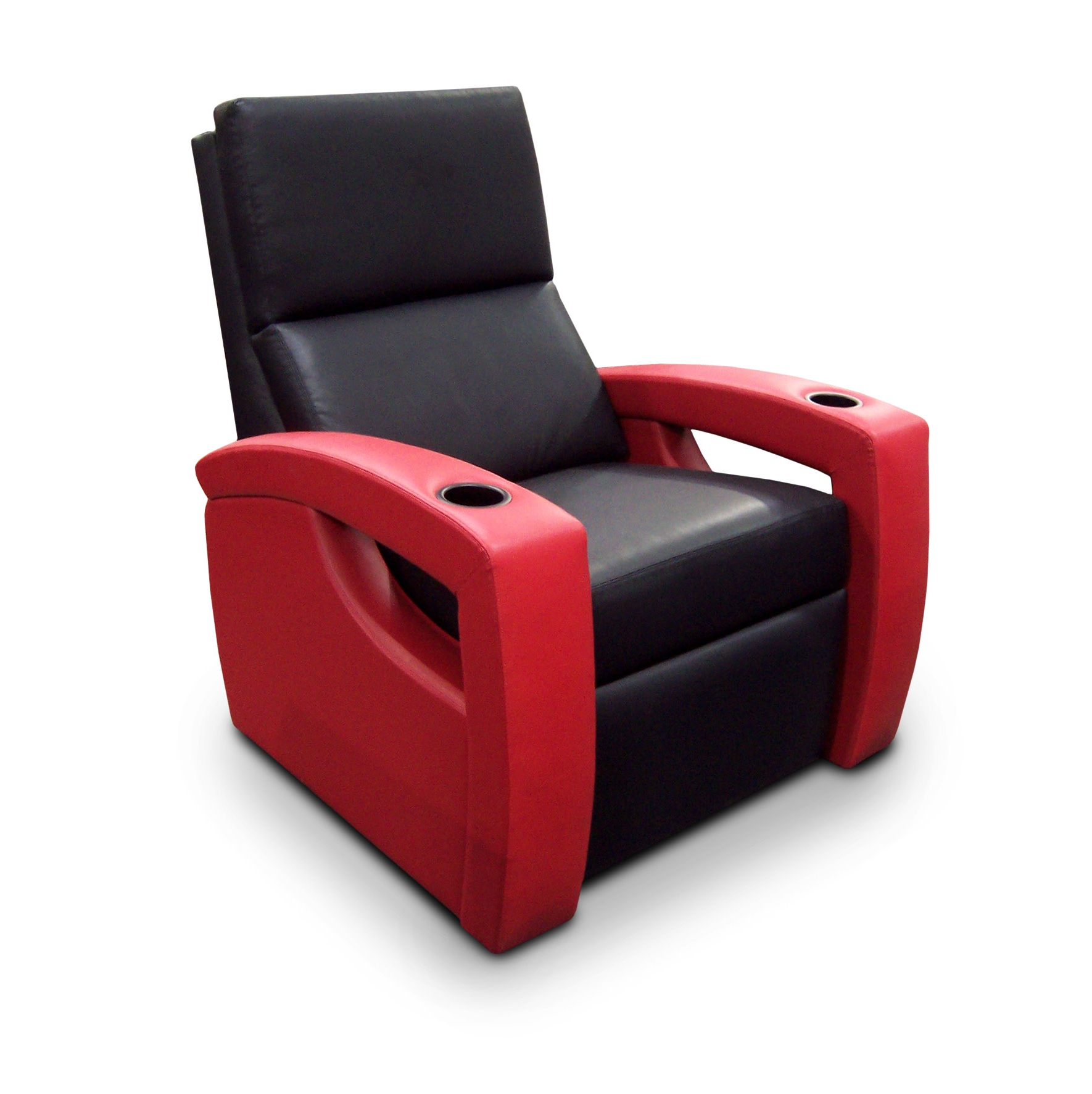 The slender back and finely crafted open arm design offers a much lighter dimension to this chic viewing chair.