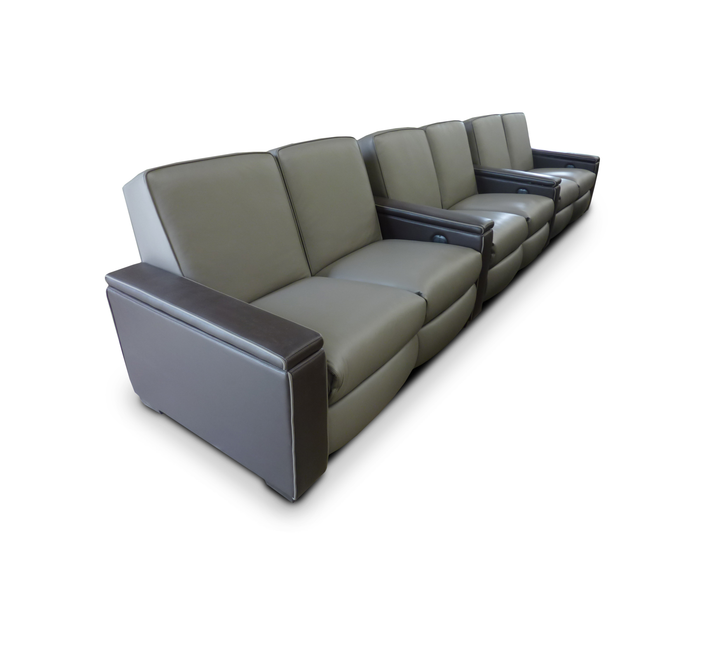 Dual Common Arm ~ Fully Upholstered