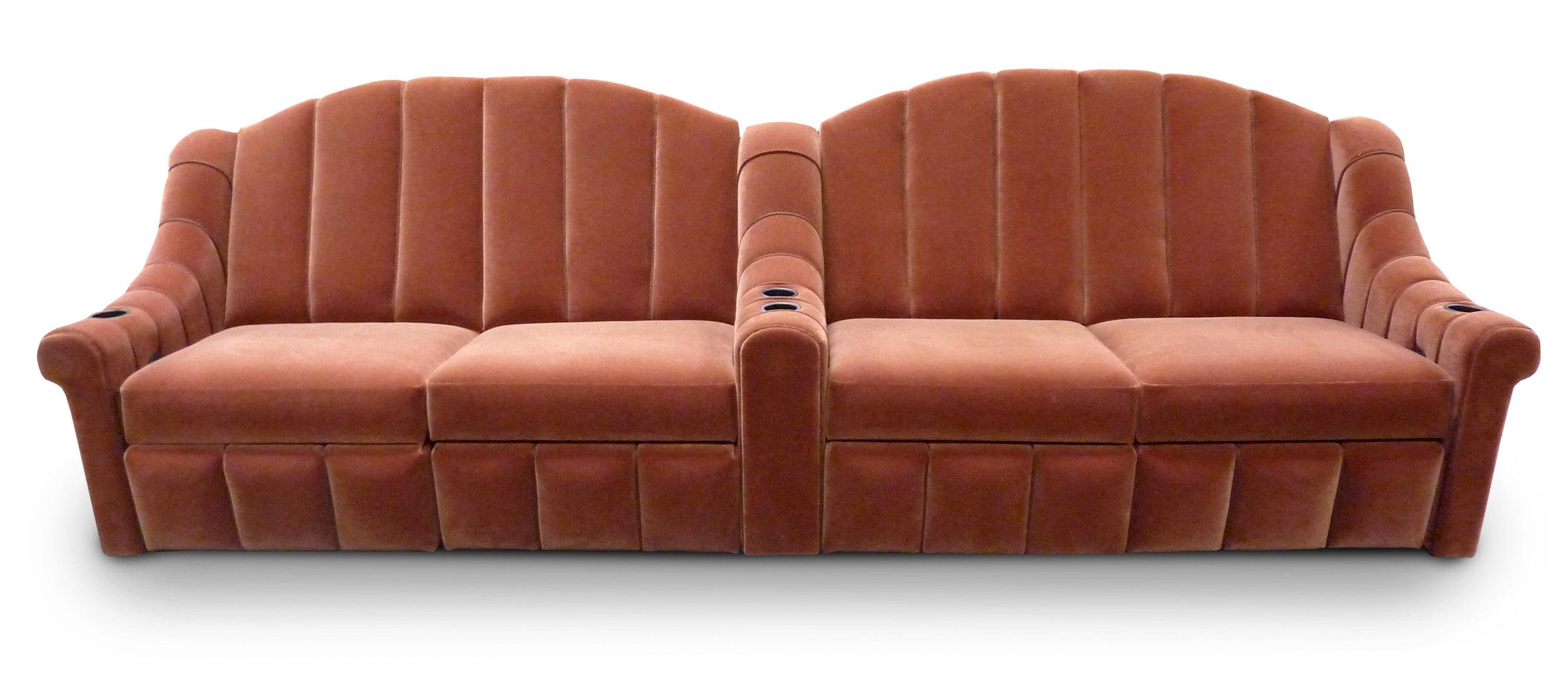 Double Non-Reclining Sofa