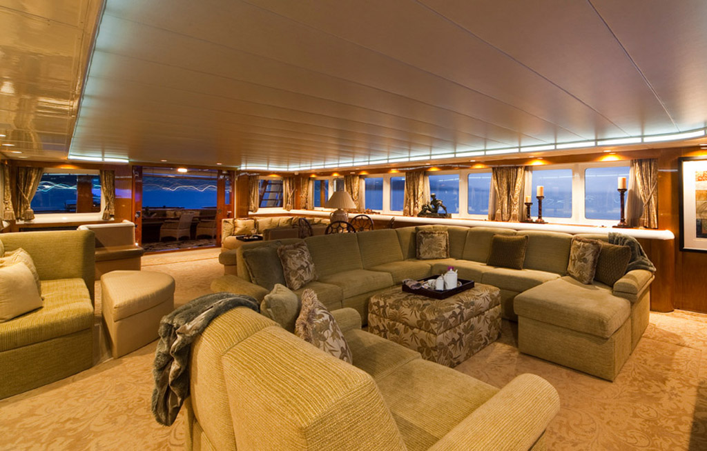 Westside installation on 174' Yacht