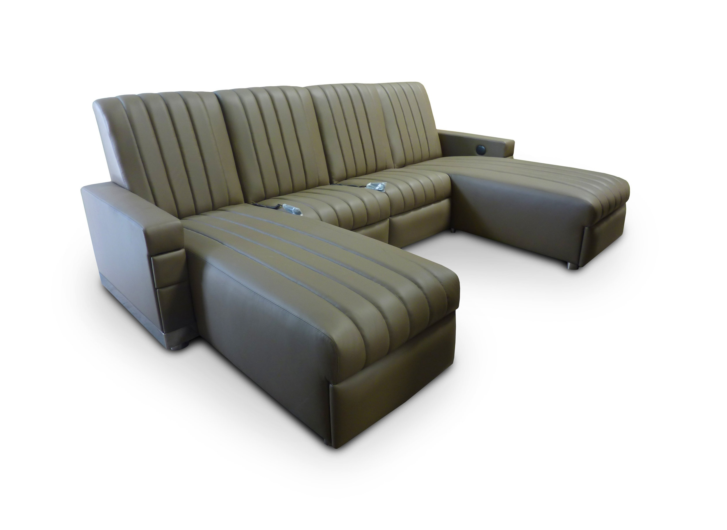 Chaise-Dual-Chaise; Front Access Cup Holders