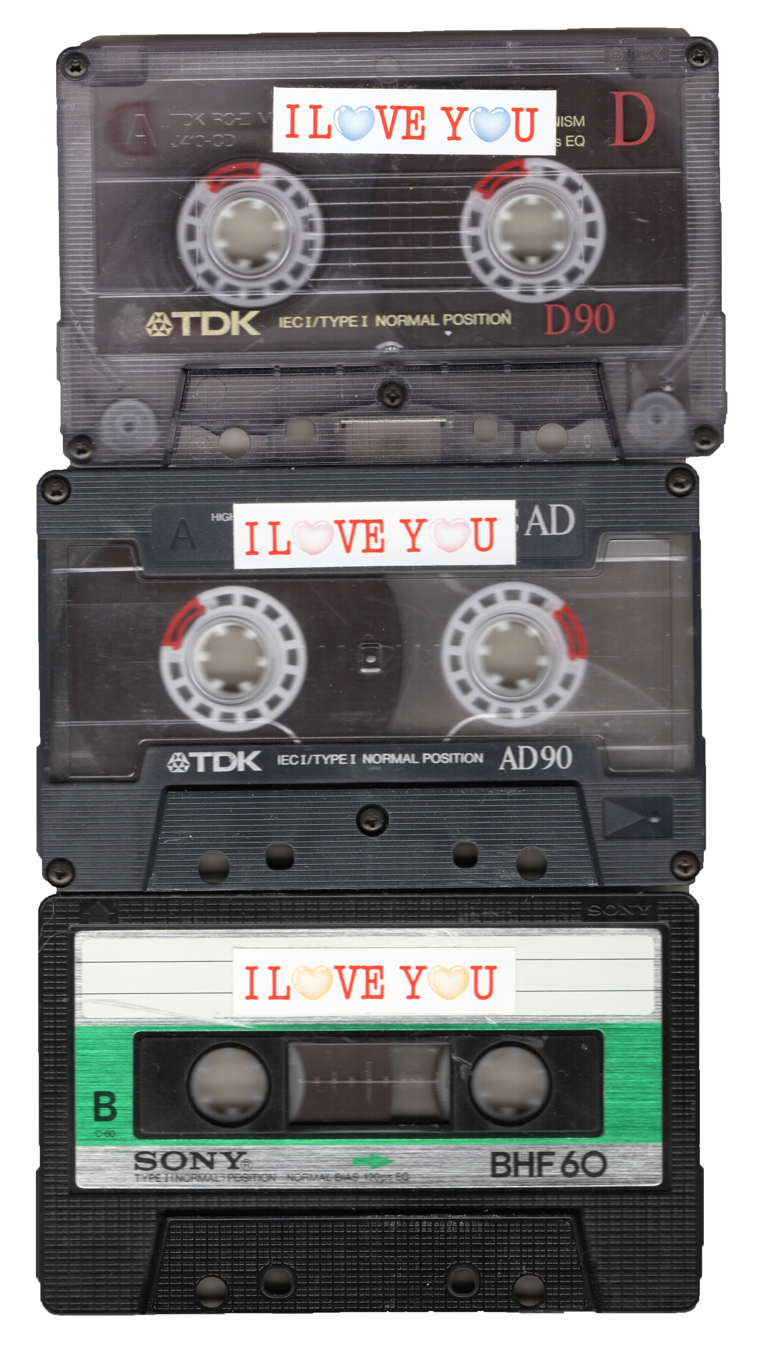 Audio tapes my mom and dad sent back and fourth to each other when my dad was in San Francisco and my mom was in Perth, Australia. These consisted of music they recorded to each other and they were basically spoken letters