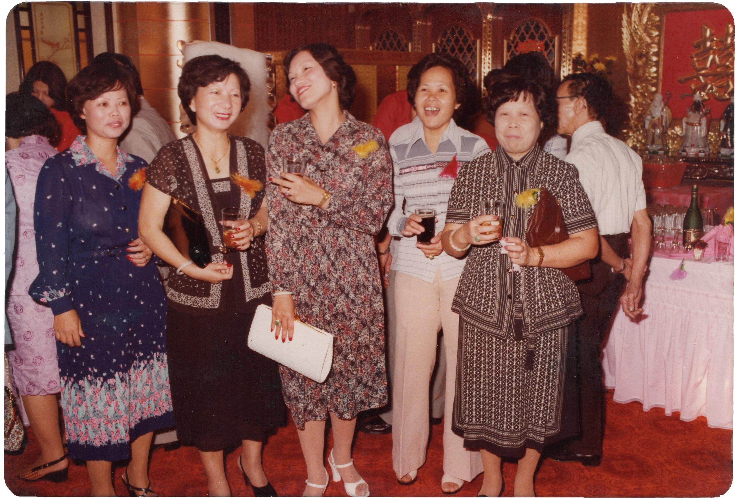 Grandma (mom's side)at a cantonese wedding