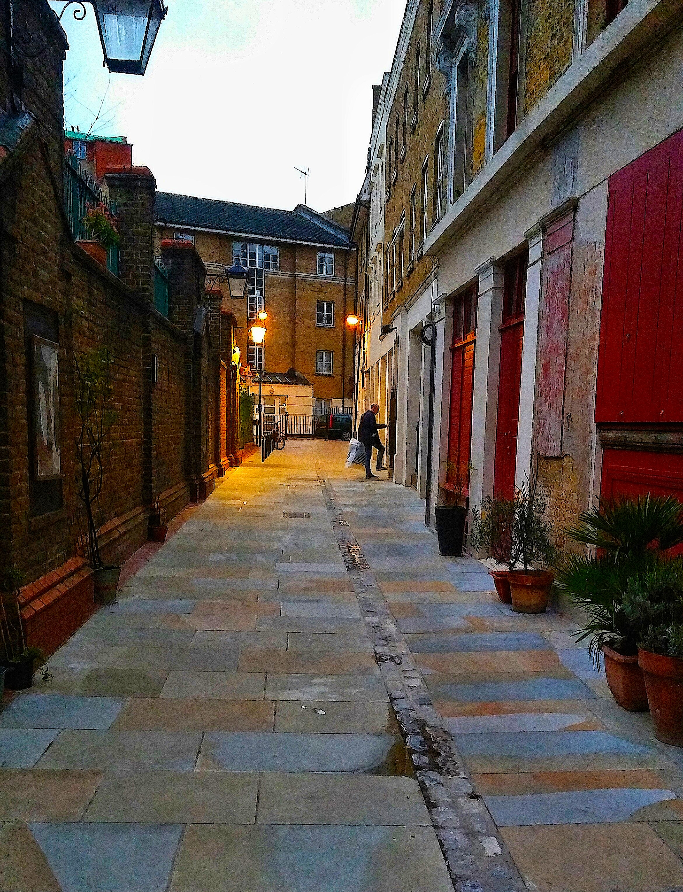 Historical Ensign Street in the   London Borough of Tower Hamlets