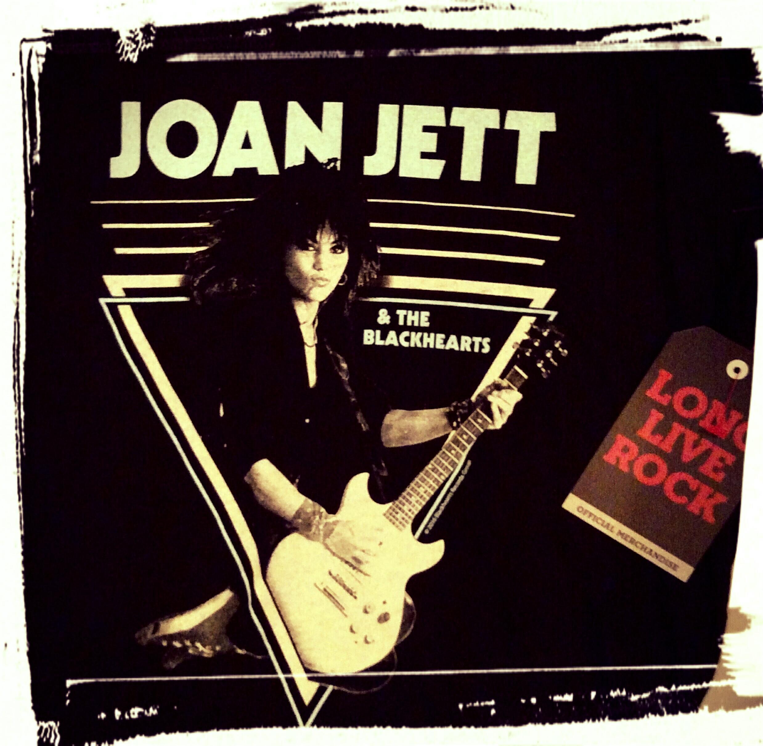 Joan Jett t-shirt front