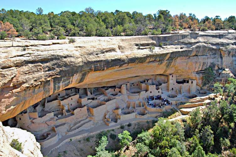 Image source:  Cliff Place, Mesa Verde National Park