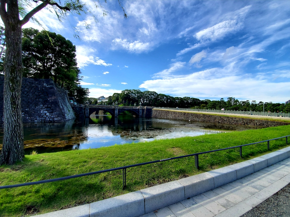 Imperial Palace moat.