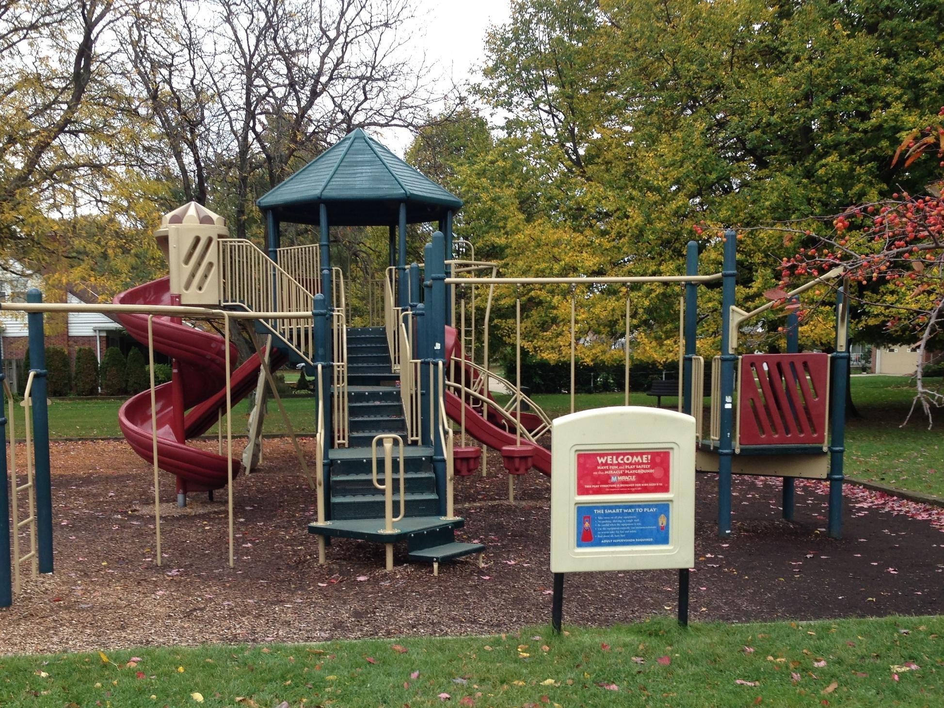 Play ground equipment at Martin's Park