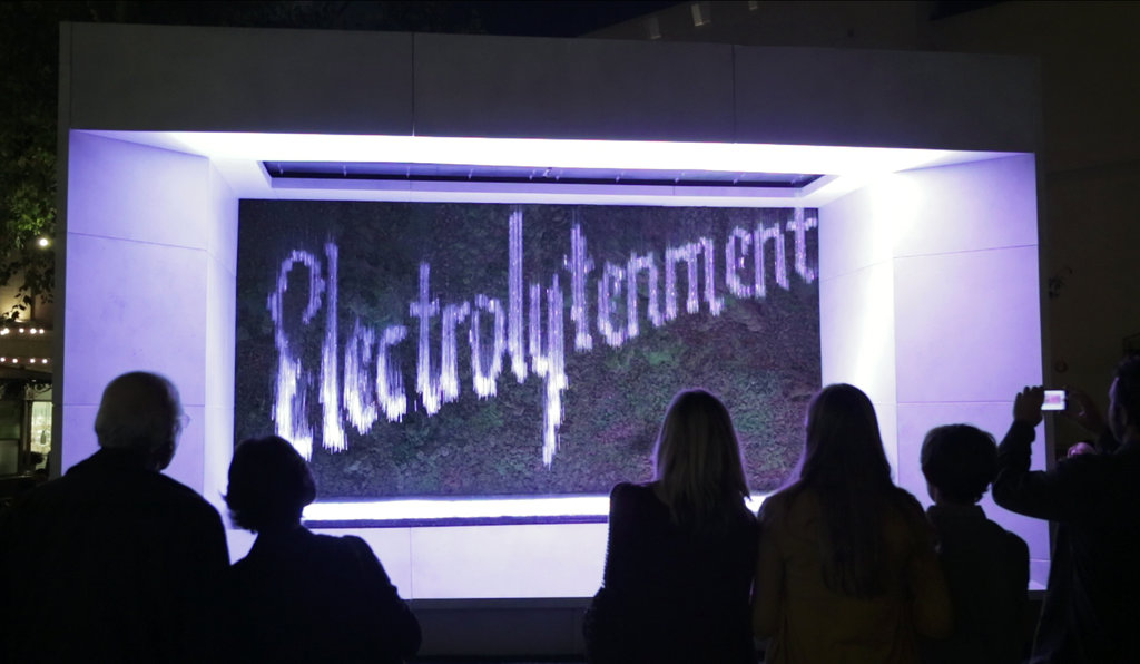 "Graphical Waterfall® — Nestlé ""Electrolytenment"" campaign (2013) — © The New York Times Company."