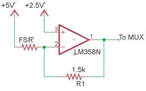 Figure 4: FSR linearization circuit.