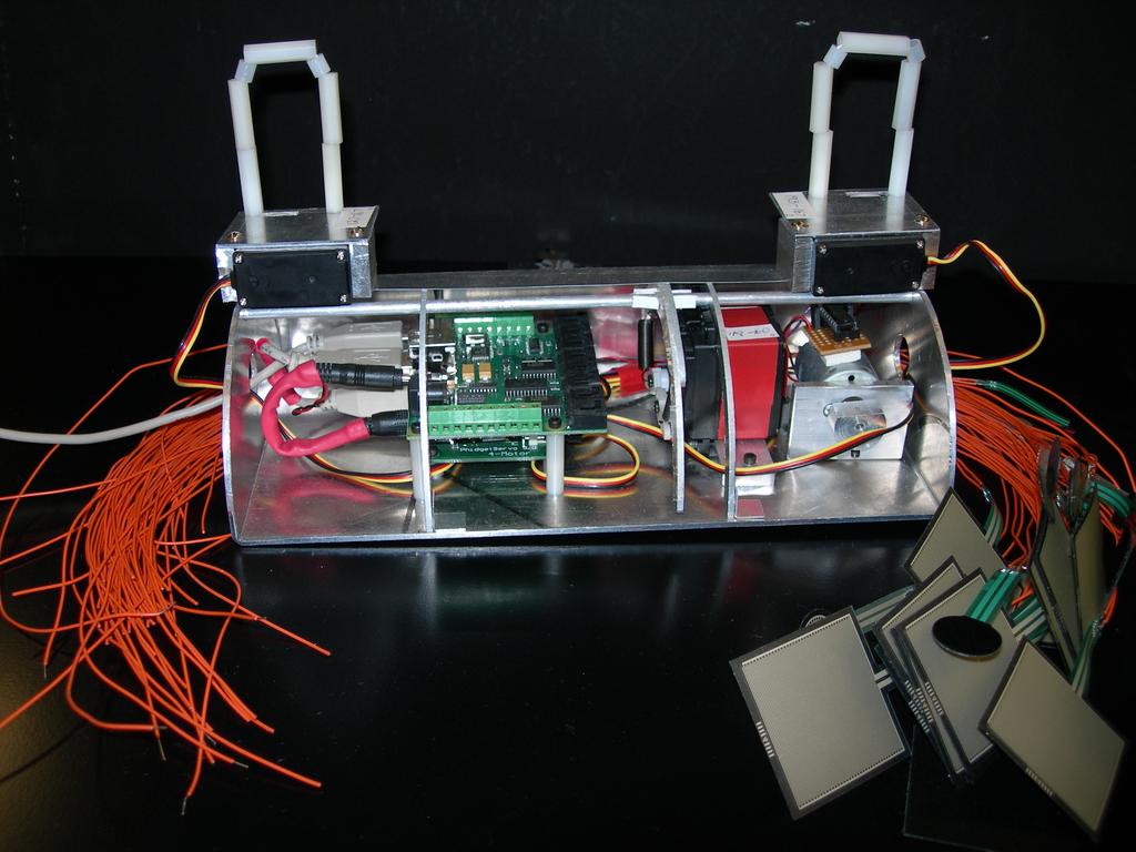Haptic Creature Mechatronics Prototype