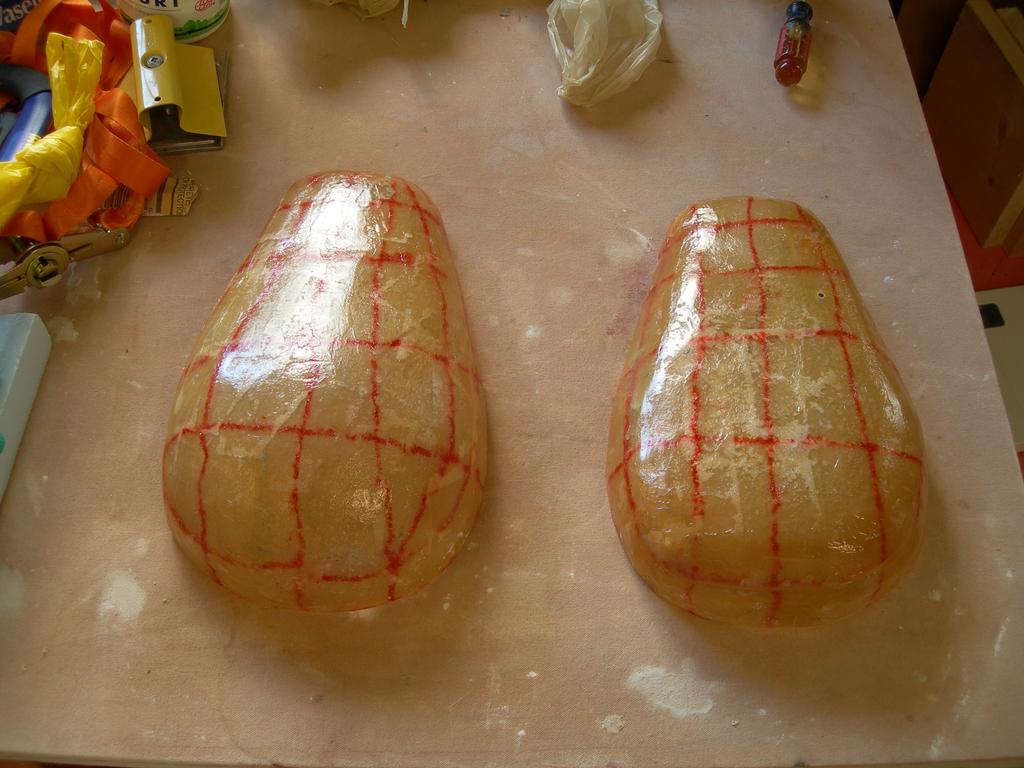 Fabricating the Fiberglass Shell