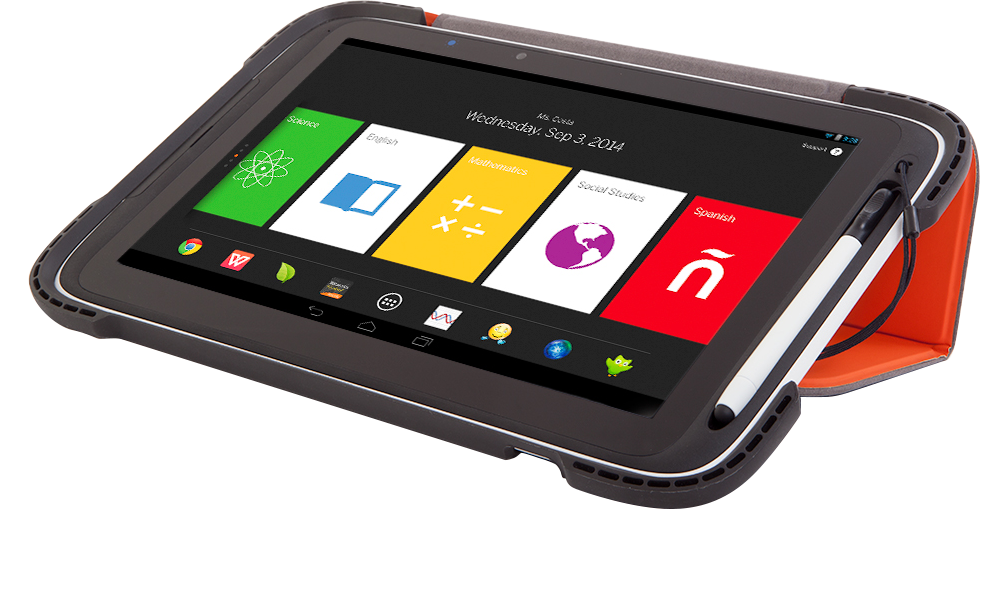 Figure 2: Amplify Tablet hardware.