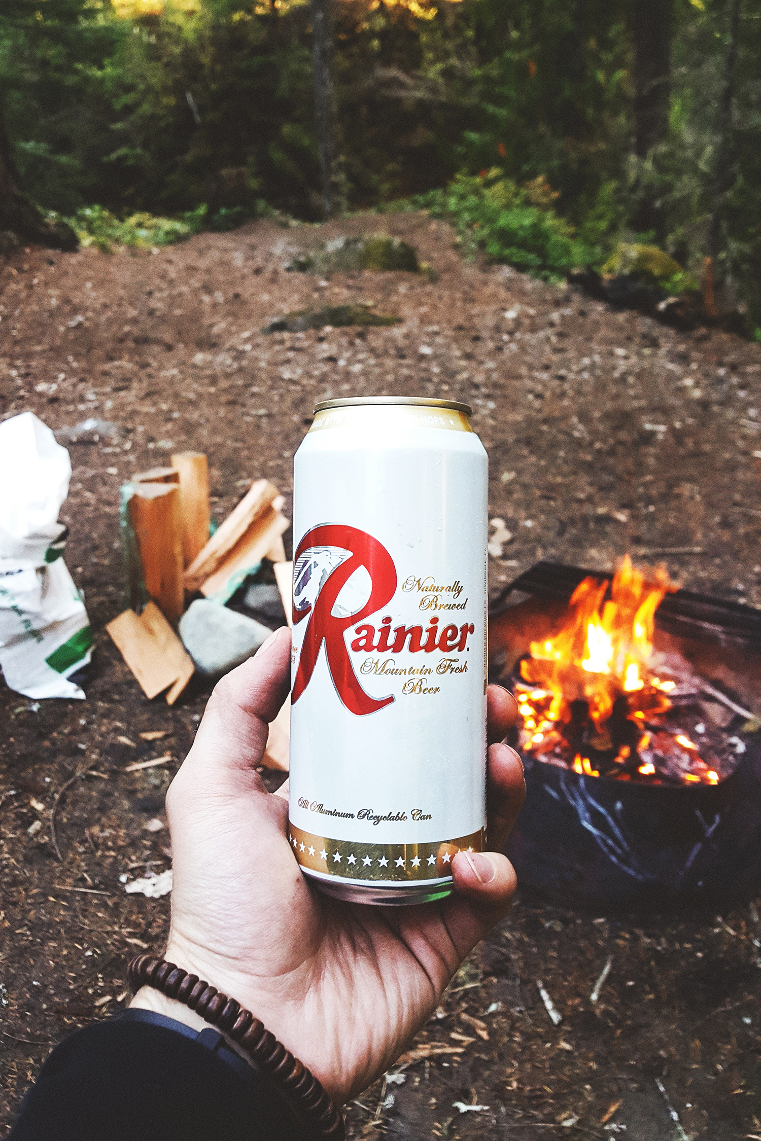 Rainier Beer. Made in California??