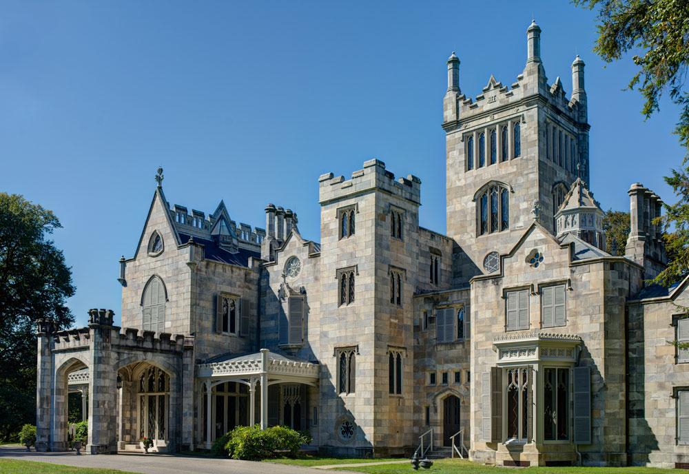 The Lyndhurst mansion by architect Alexander Jackson Davis.