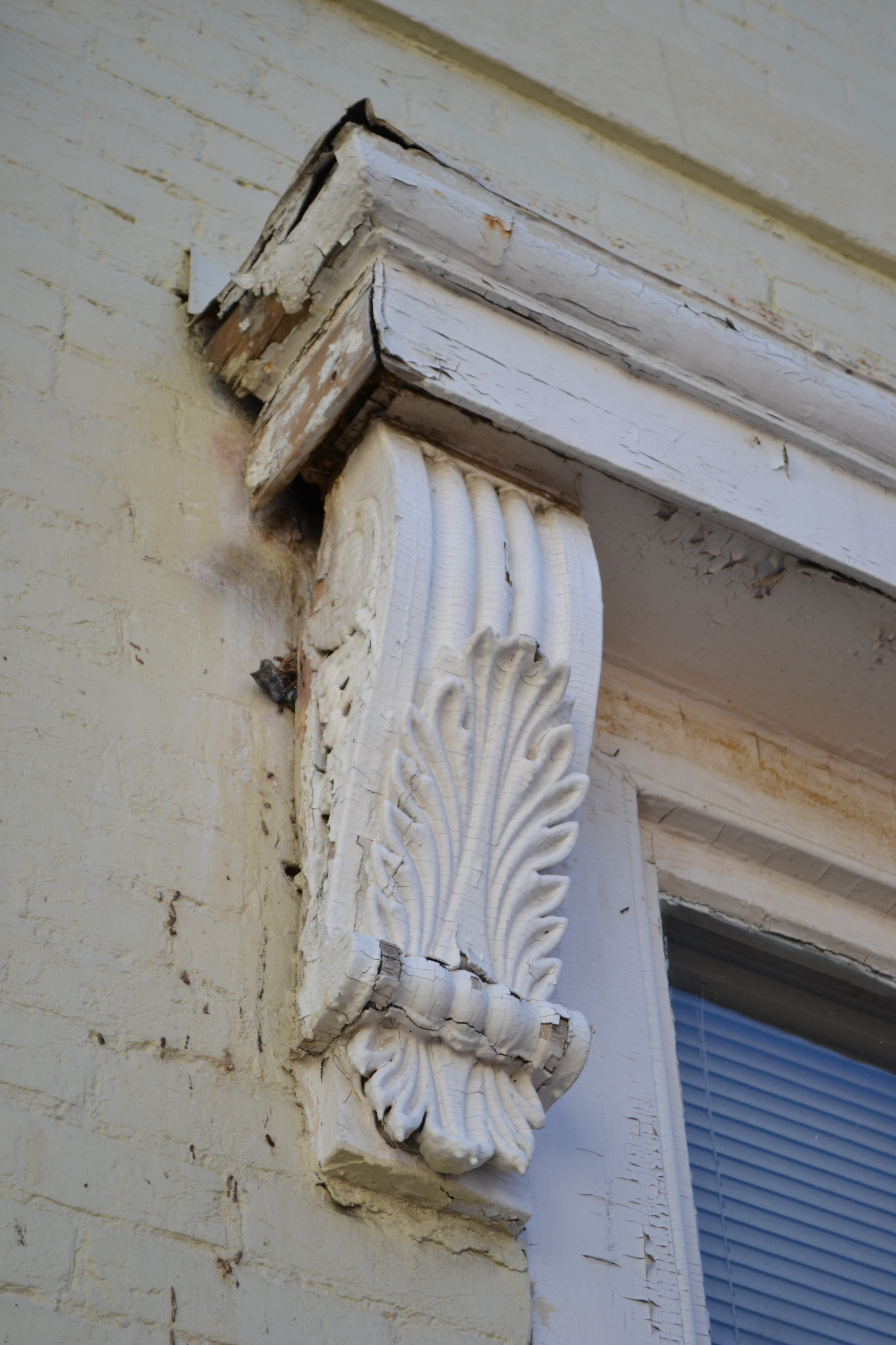 Typical condition of architectural ornamentation.
