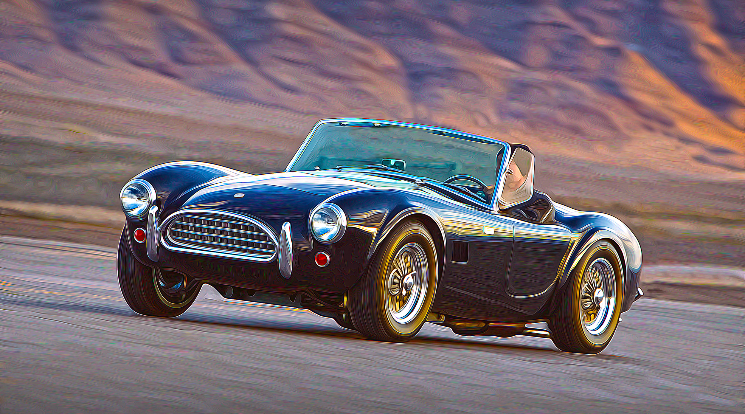 50th Anniversary Cobra in Action