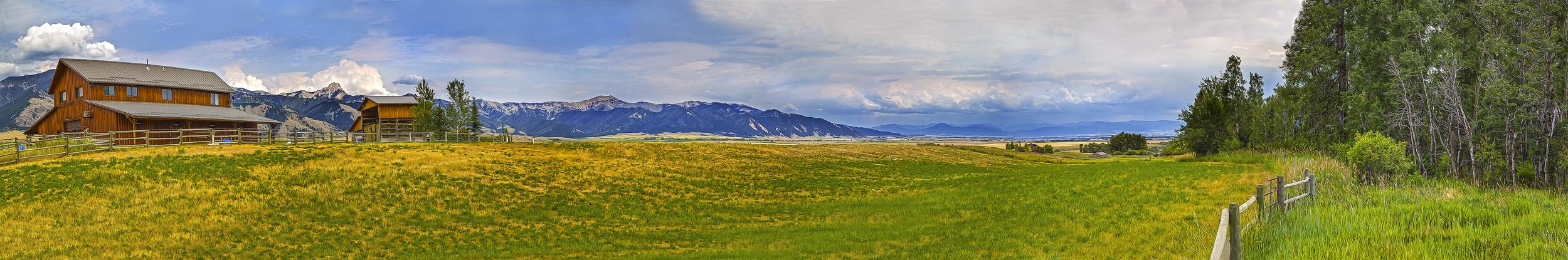 Ranch near Bozeman Montana
