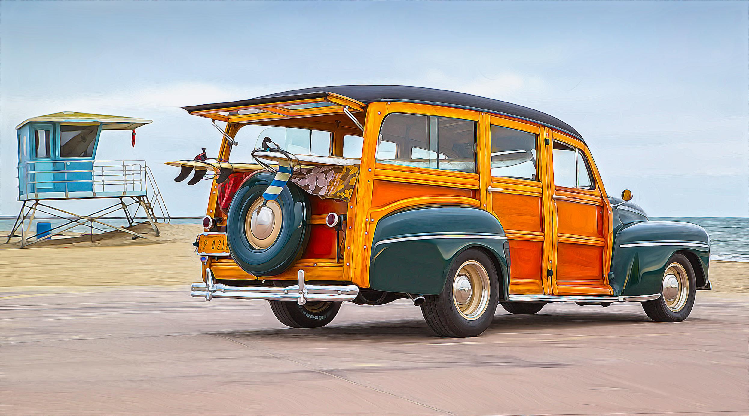 '47 Ford Woodie