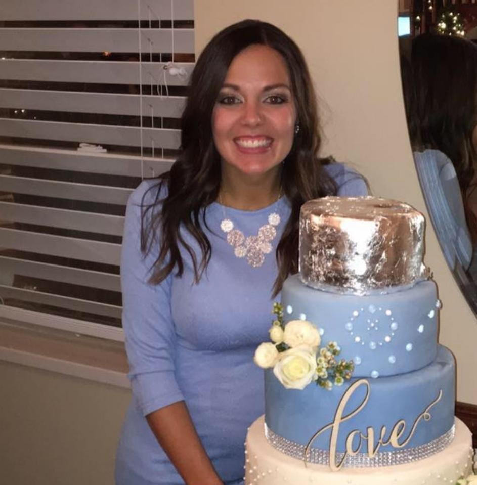 Brittney Johnson   founder of Crunix Cakes, Washington, Utah. 2016