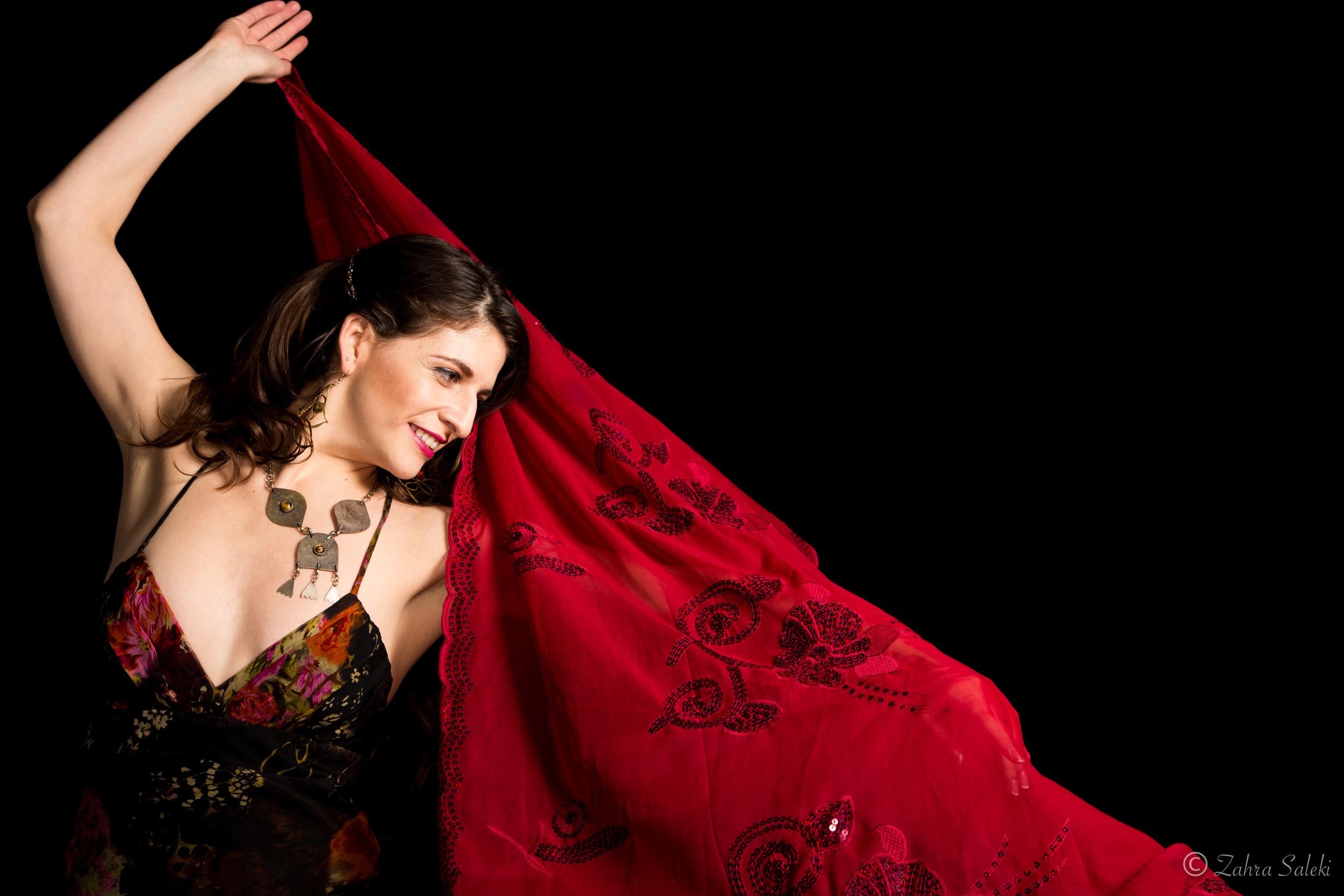 Zahra Saleki red shawl 2.jpg