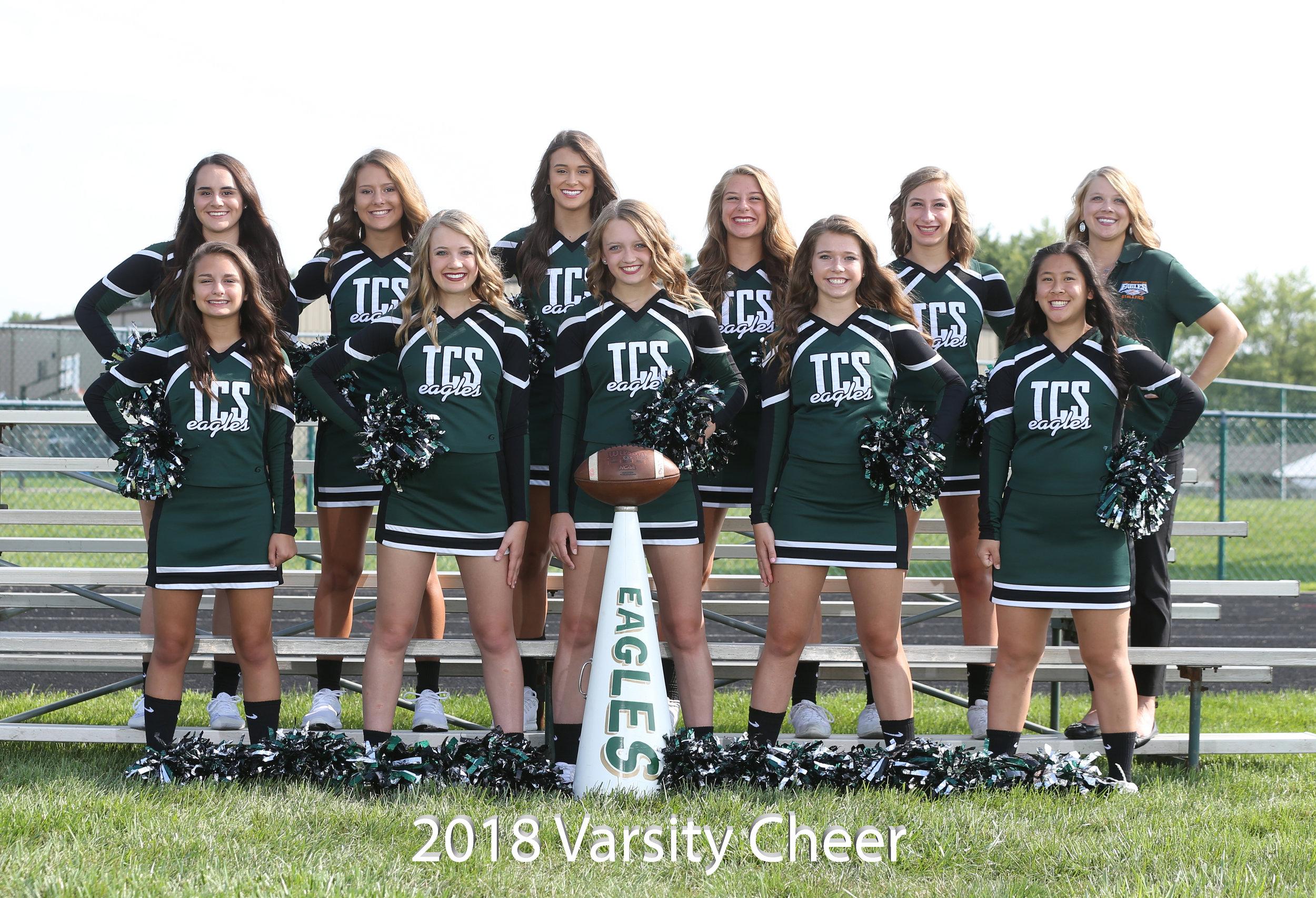 2017 Varsity Football Cheerleaders