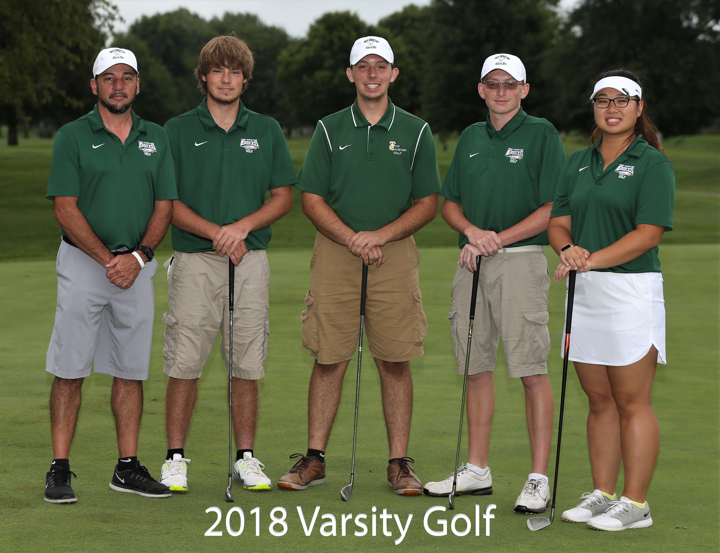 2017 Varsity Golf